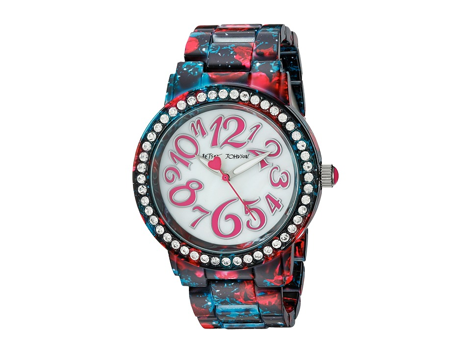 Betsey Johnson - BJ00482-10 - Floral Galaxy (Navy) Watches