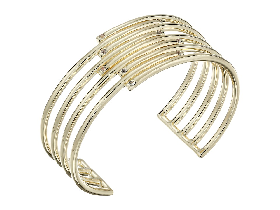 Elizabeth and James - Zemi Cuff (Yellow Gold) Bracelet