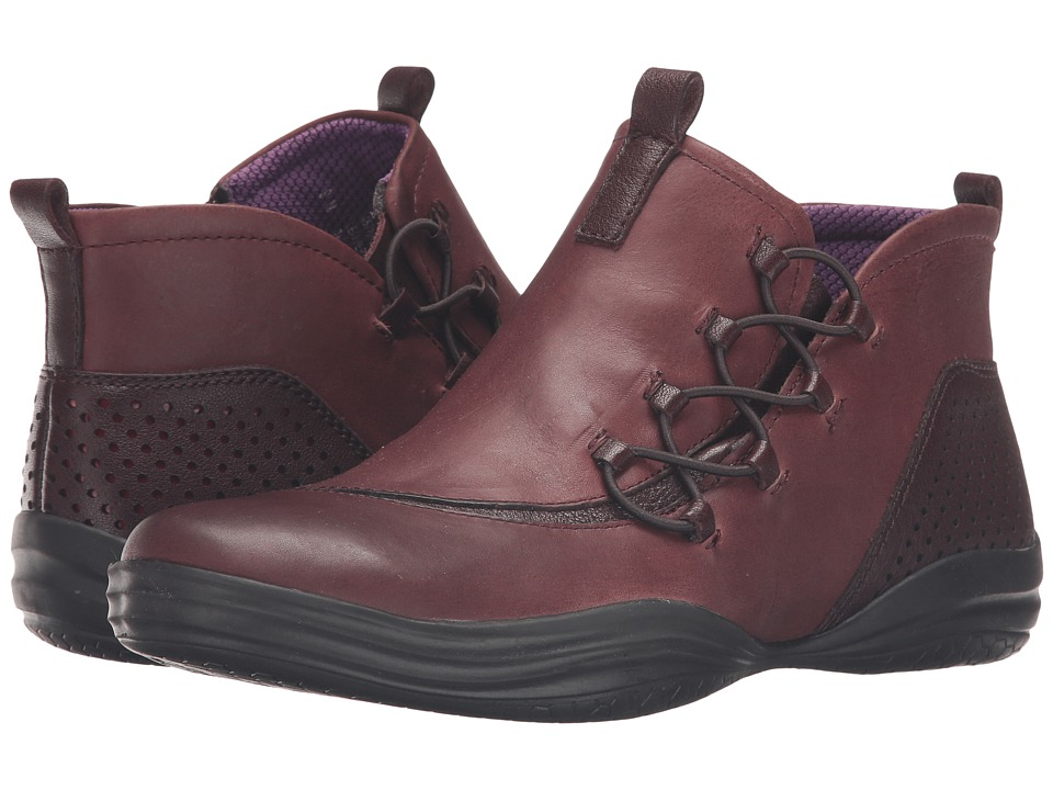 Bionica - Santiago (Red) Women's Lace-up Boots