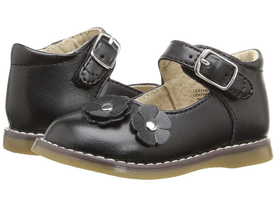 FootMates - Shelby (Infant/Toddler) (Black) Girls Shoes