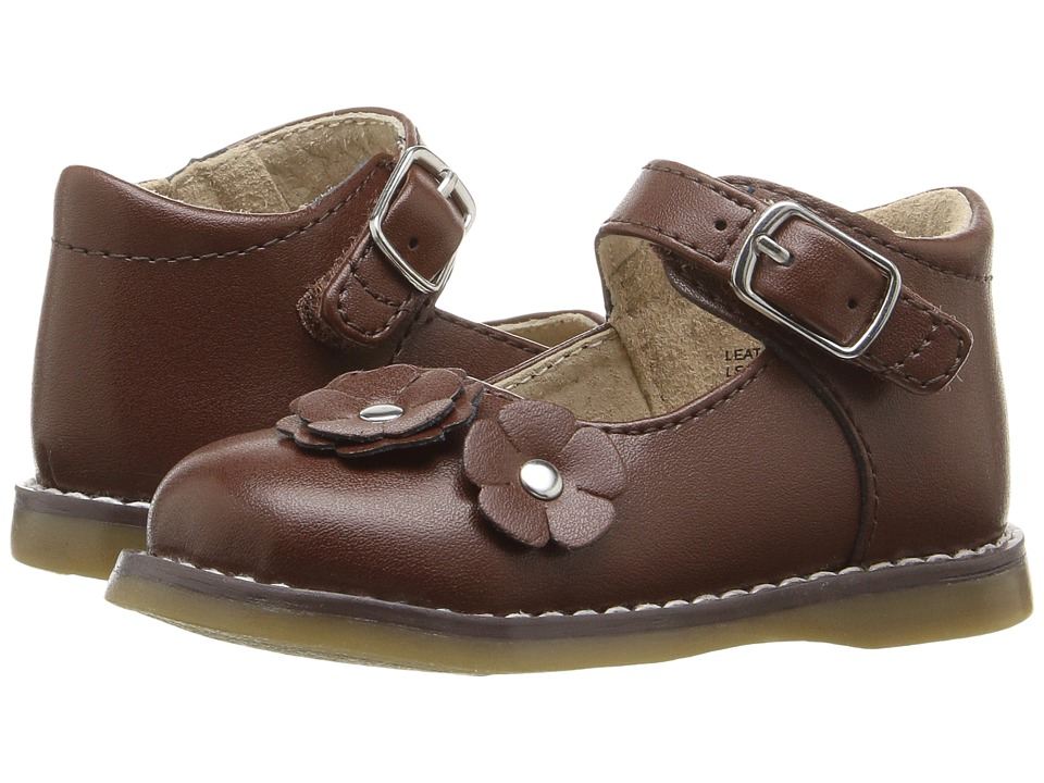 FootMates - Shelby (Infant/Toddler) (Cognac) Girls Shoes