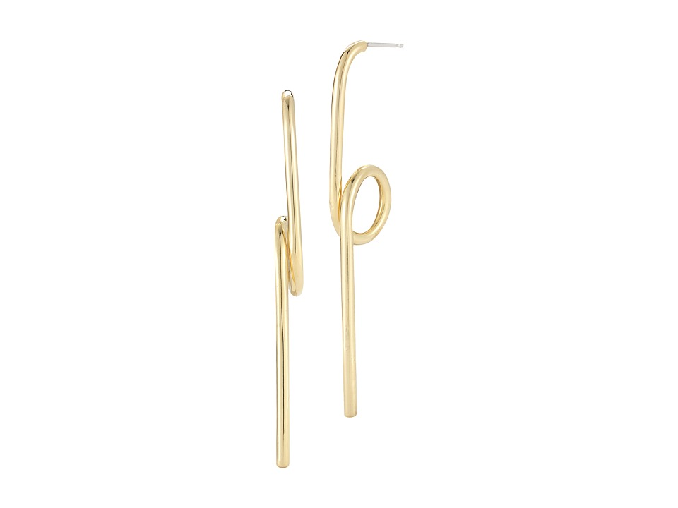 Elizabeth and James - Luda Earrings (Yellow Gold) Earring