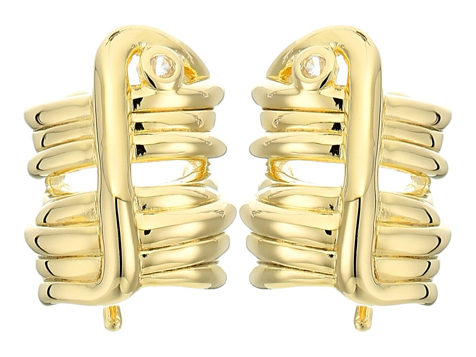 Elizabeth and James - Adagio Ear Crawler Earrings (Yellow Gold) Earring