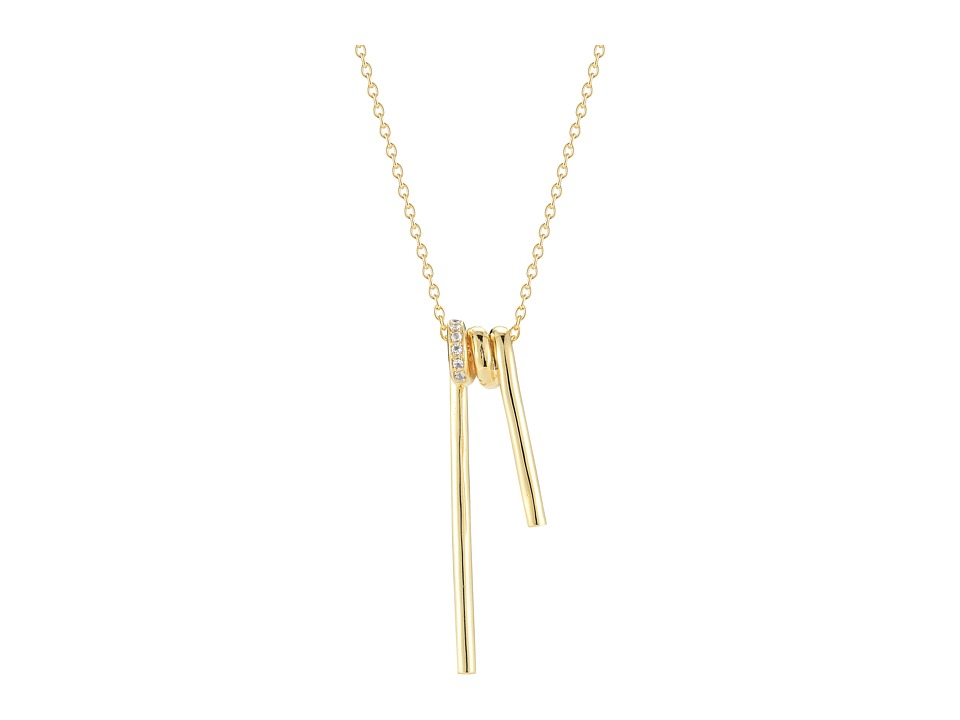 Elizabeth and James - Demi Necklace - 28 Length (Yellow Gold) Necklace