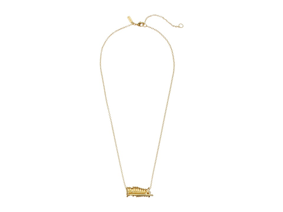 Elizabeth and James - Adagio Necklace - 16/18 Length (Yellow Gold) Necklace