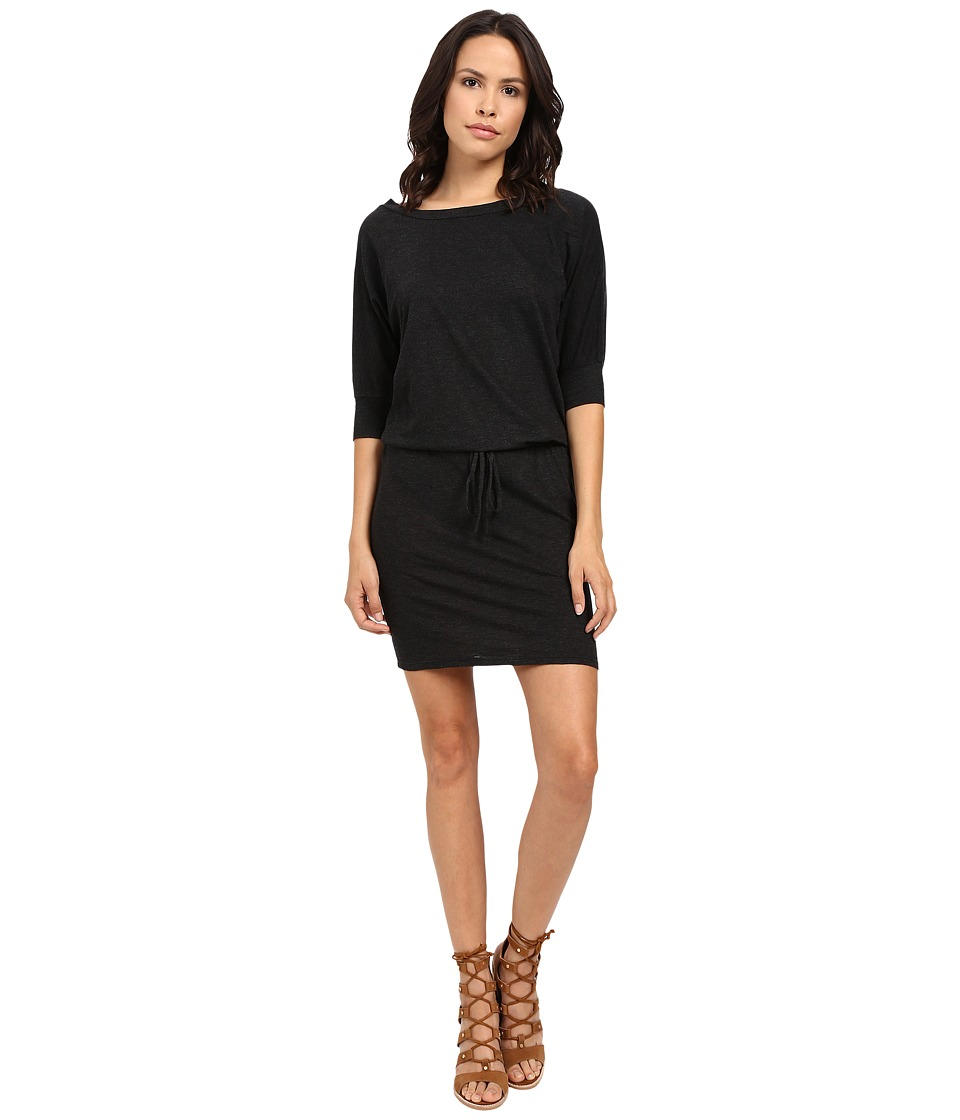 Lanston - Boyfriend Dress (Black) Women's Dress