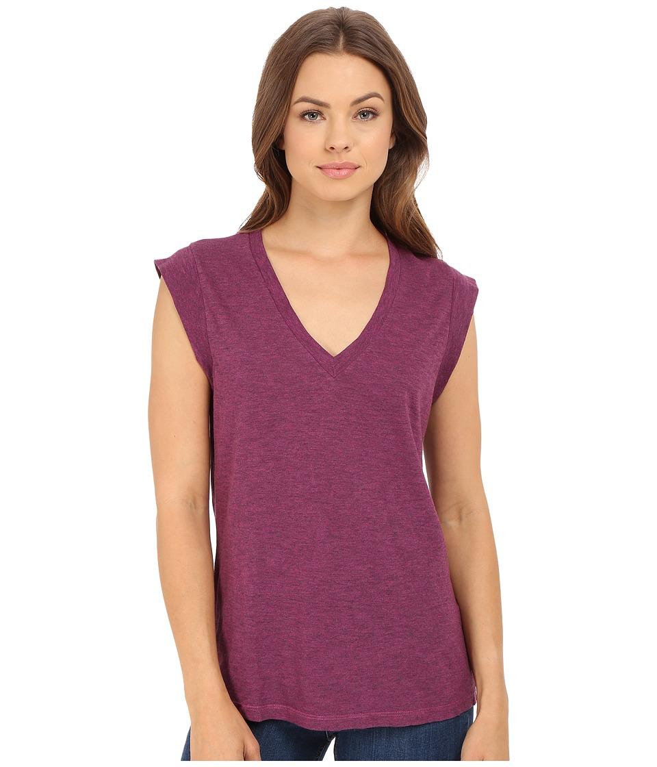 Lanston - V Tee (Raspberry) Women's T Shirt