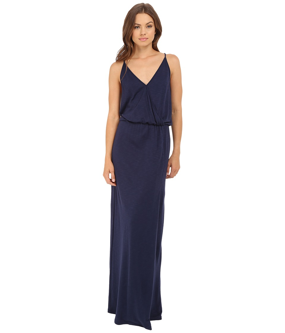 Lanston - Back Bar Slit Maxi Dress (Mystic) Women's Dress
