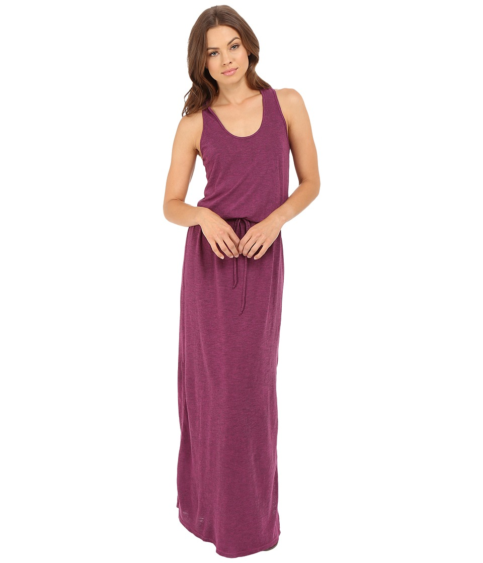 Lanston - Racerback Maxi Dress (Raspberry) Women's Dress