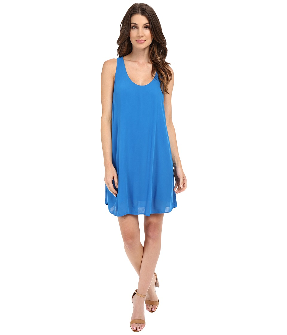 Lanston - Cut Out Mini Dress (Cerulean) Women's Dress