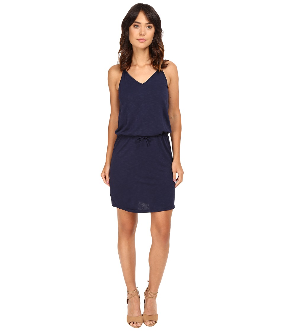 Lanston - V-Neck Mini Dress (Mystic) Women's Dress