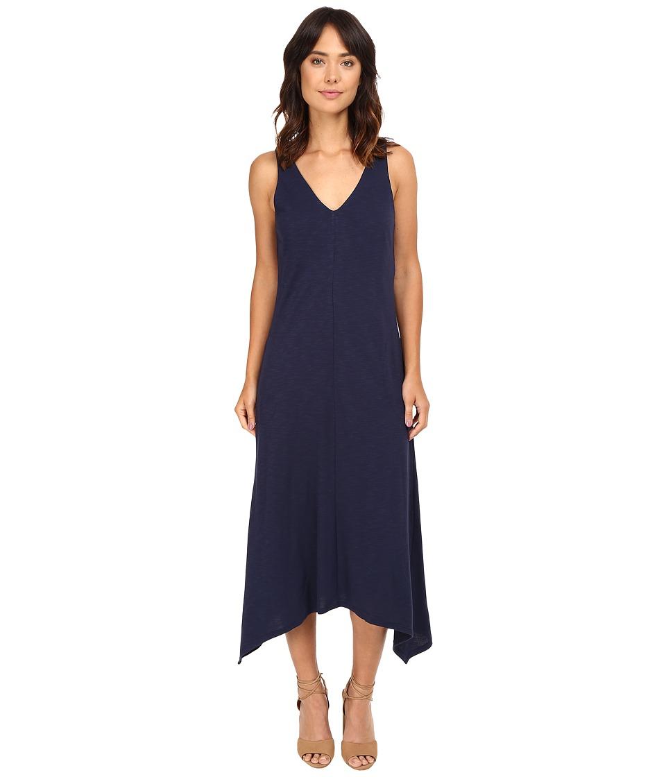 Lanston - V-Neck Pocket Dress (Mystic) Women's Dress