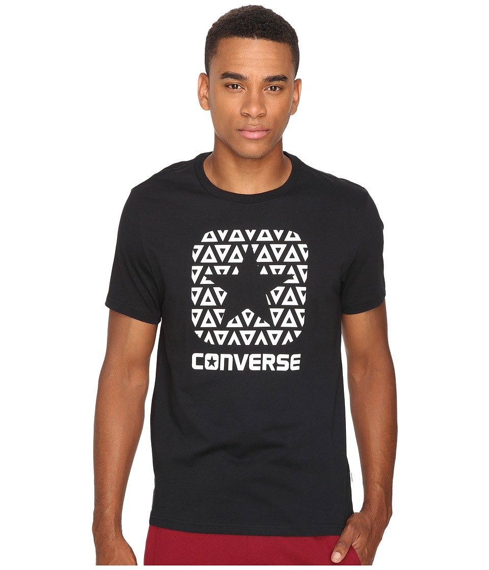 Converse - Delta Box Star Short Sleeve Tee (Black) Men's T Shirt