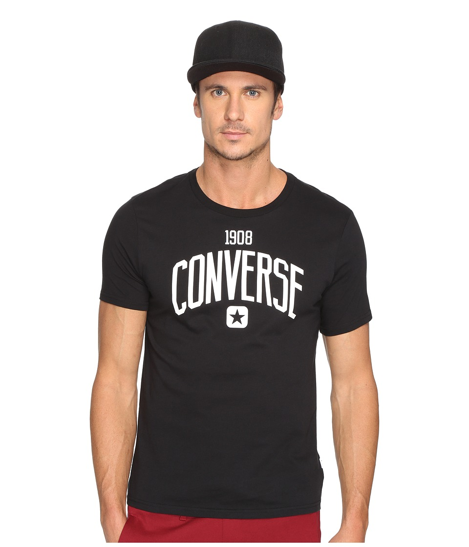 Converse - Athletic Graphic Tee (Black) Men's T Shirt