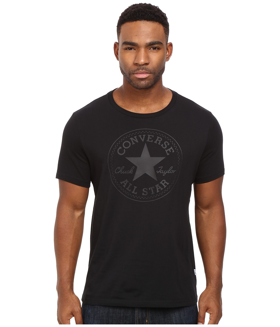 Converse - Rubber Core Patch Tee (Black) Men's T Shirt