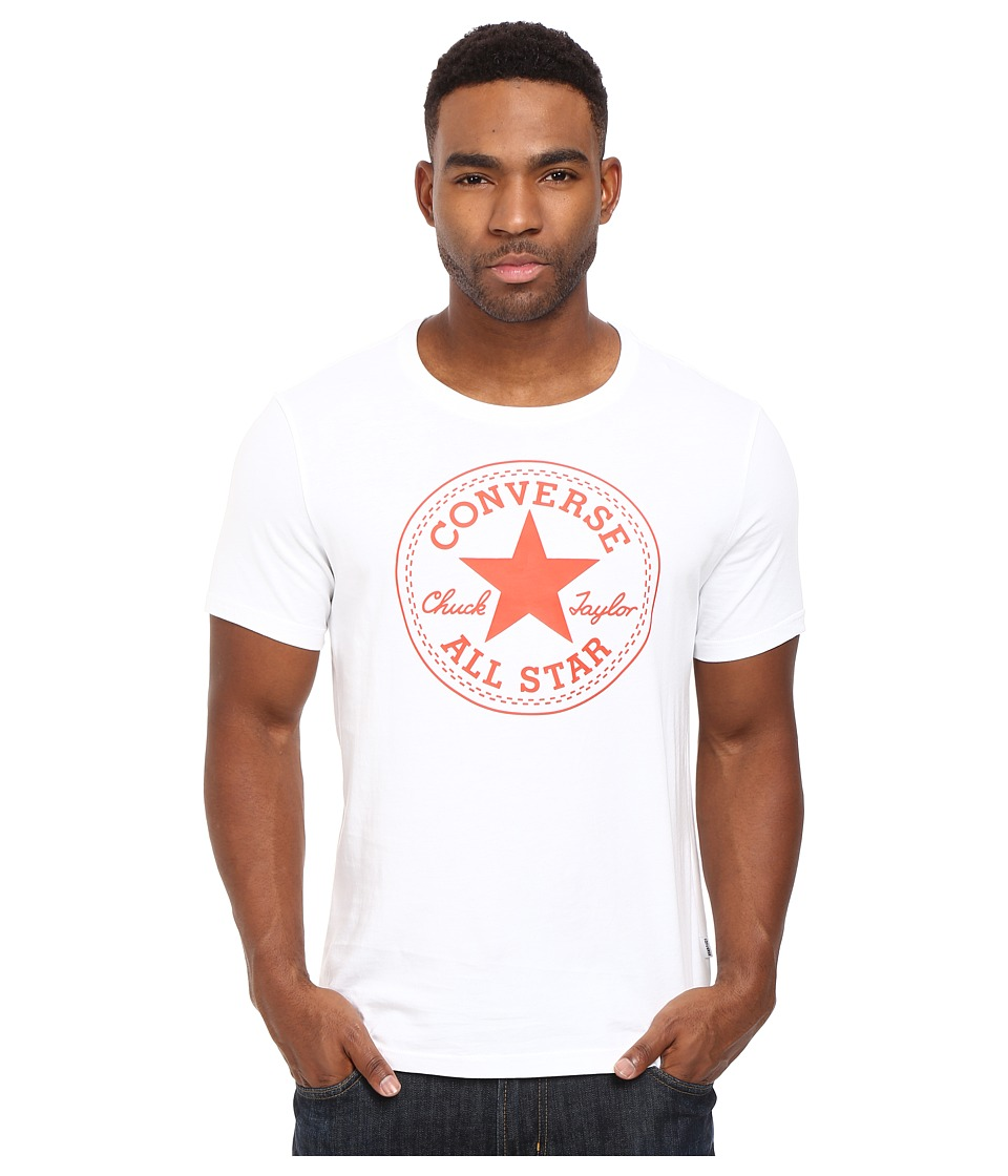 Converse - Rubber Core Patch Tee (White) Men's T Shirt