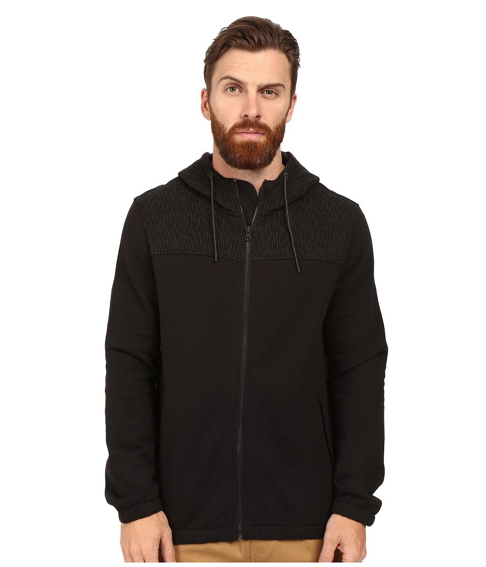 Converse - Rain Reflective Hoodie (Black) Men's Sweatshirt