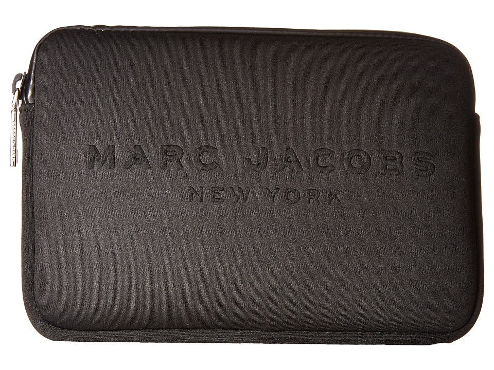 Marc Jacobs - Neoprene Tech Mini Tablet Case (Black) Wallet