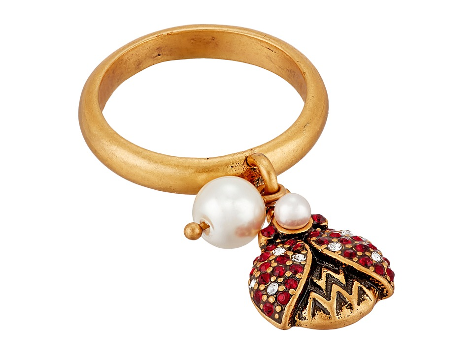 Marc Jacobs - Charms Ladybug Ring (Red) Ring