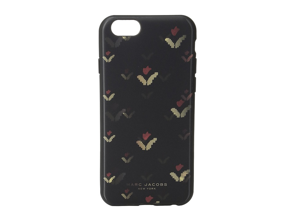 Marc Jacobs - Phone Case Lenticular Tulip iPhone 6S Case (Black Multi) Cell Phone Case