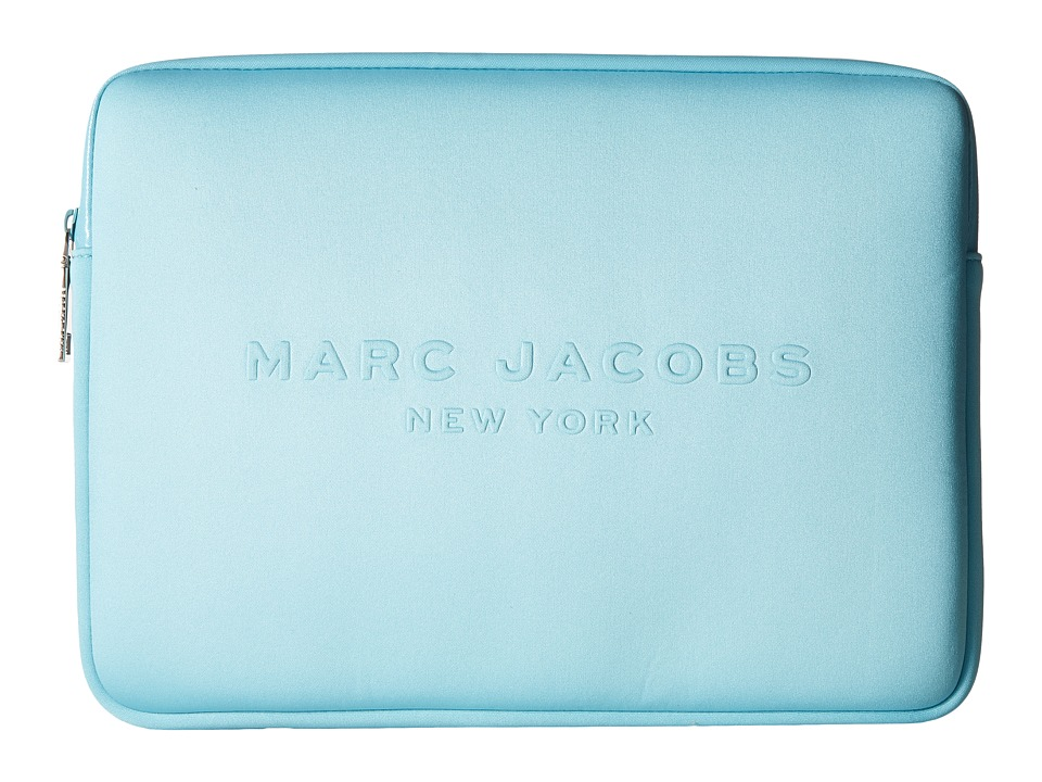 Marc Jacobs - Neoprene Tech 13 Computer Case (Azur) Computer Bags