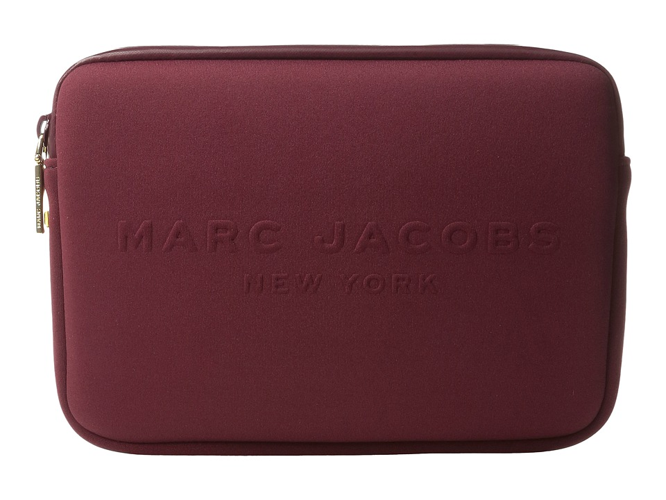 Marc Jacobs - Neoprene Tech Mini Tablet Case (Dark Cherry) Wallet