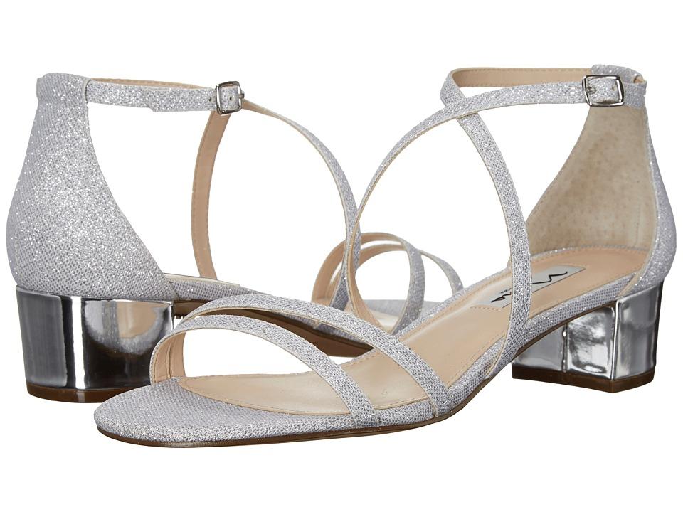 Nina - Genji (Silver) Women's 1-2 inch heel Shoes
