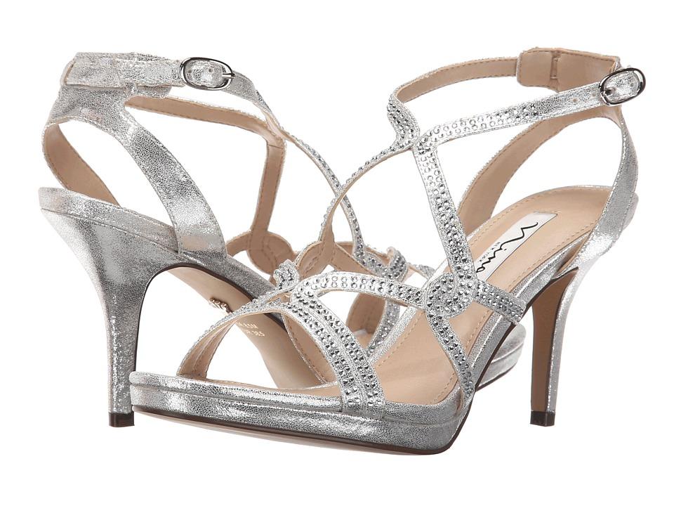 Nina - Varsha (Silver) High Heels