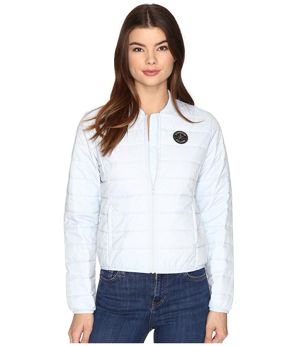 Converse - Core Packable MA-1 Bomber Jacket (Polar Blue) Women's Coat