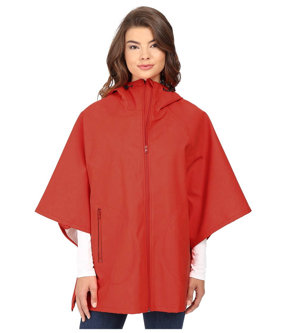 Converse - Rubber Poncho (Signal Red) Women's Clothing