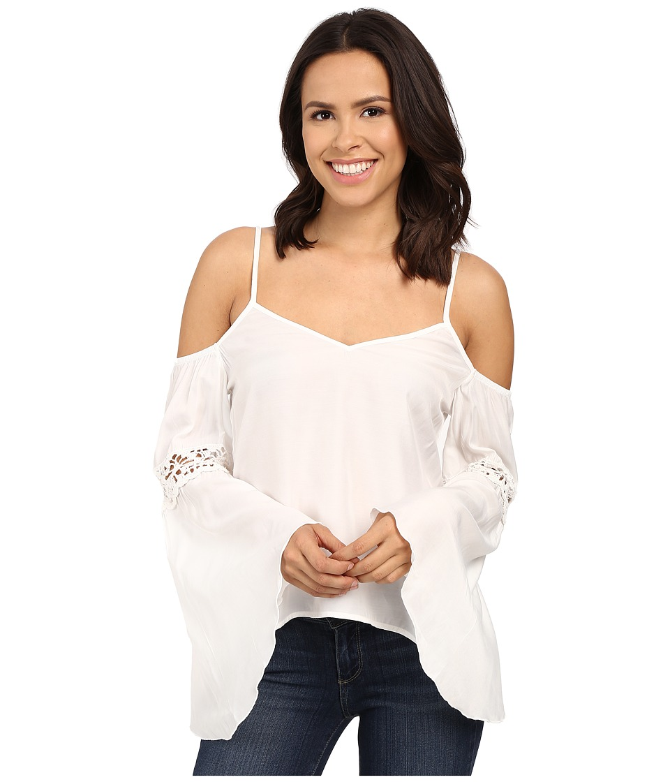 Union of Angels - Addie Top (White) Women's Clothing