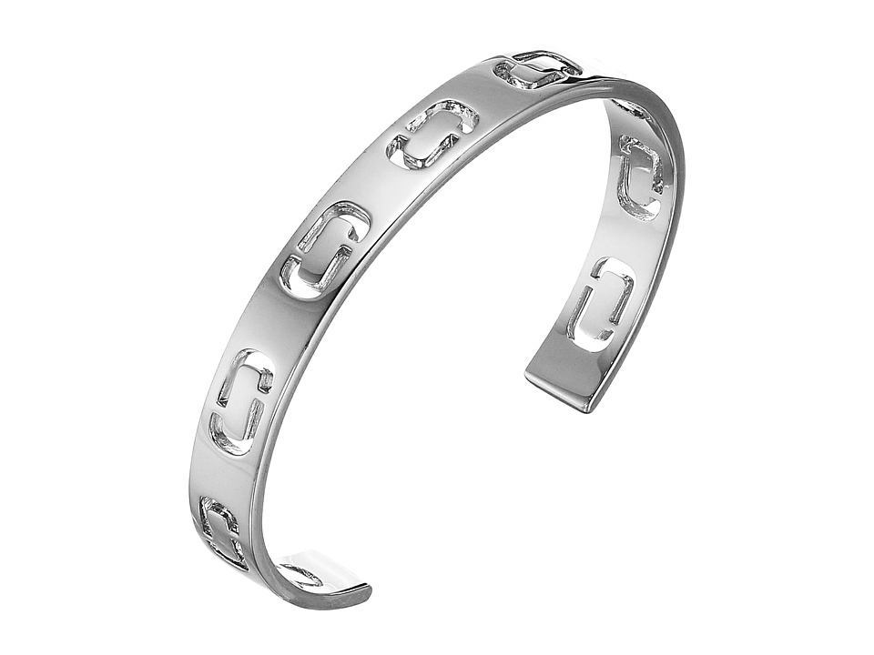 Marc Jacobs - Icon Cuff Bracelet (Silver) Bracelet