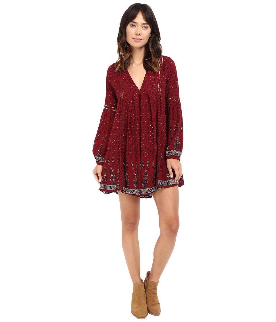 Brigitte Bailey - Karis Bell Sleeve Dress (Multi) Women's Dress