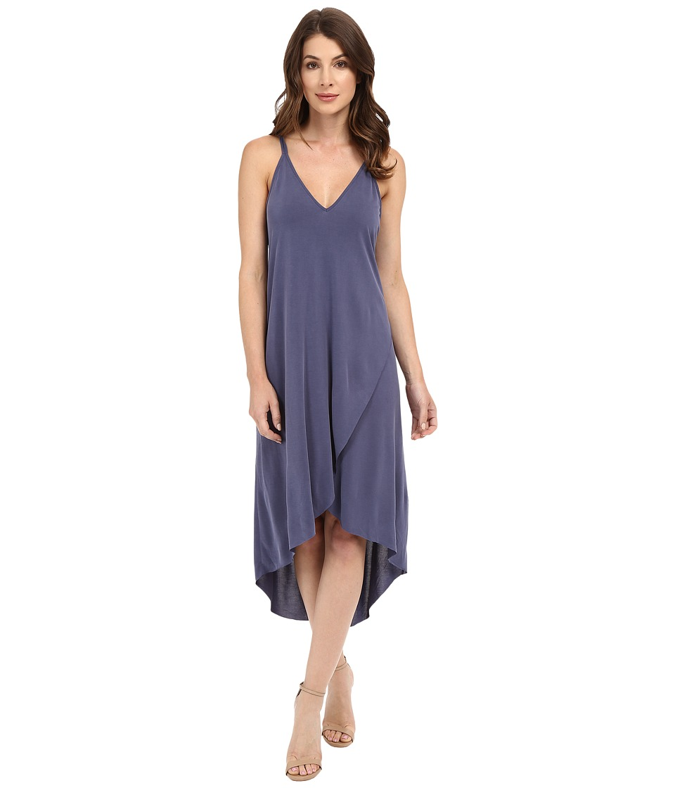 Brigitte Bailey Ciara High-Low Sleeveless Dress (Crown Blue) Women