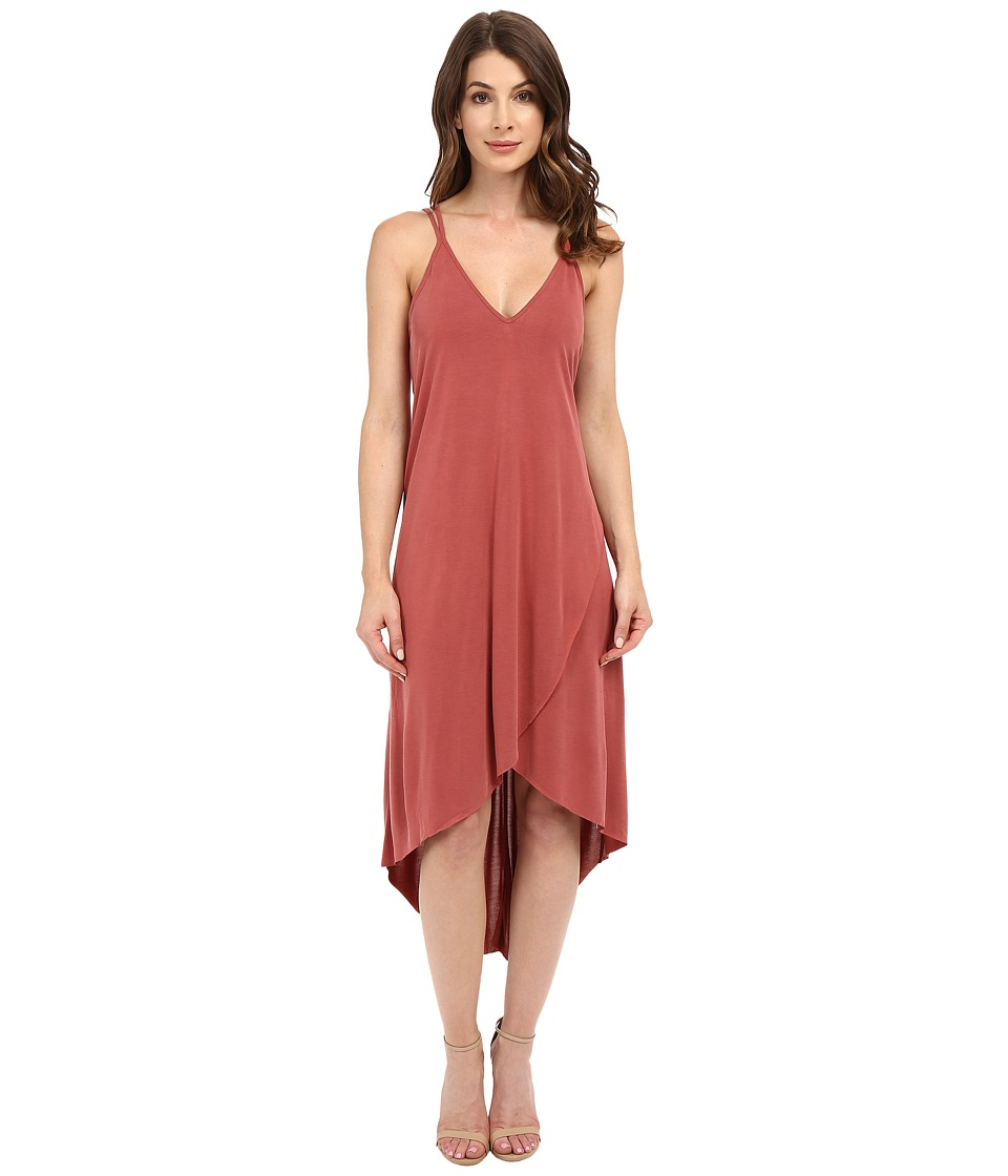 Brigitte Bailey - Ciara High-Low Sleeveless Dress (Marsala) Women's Dress