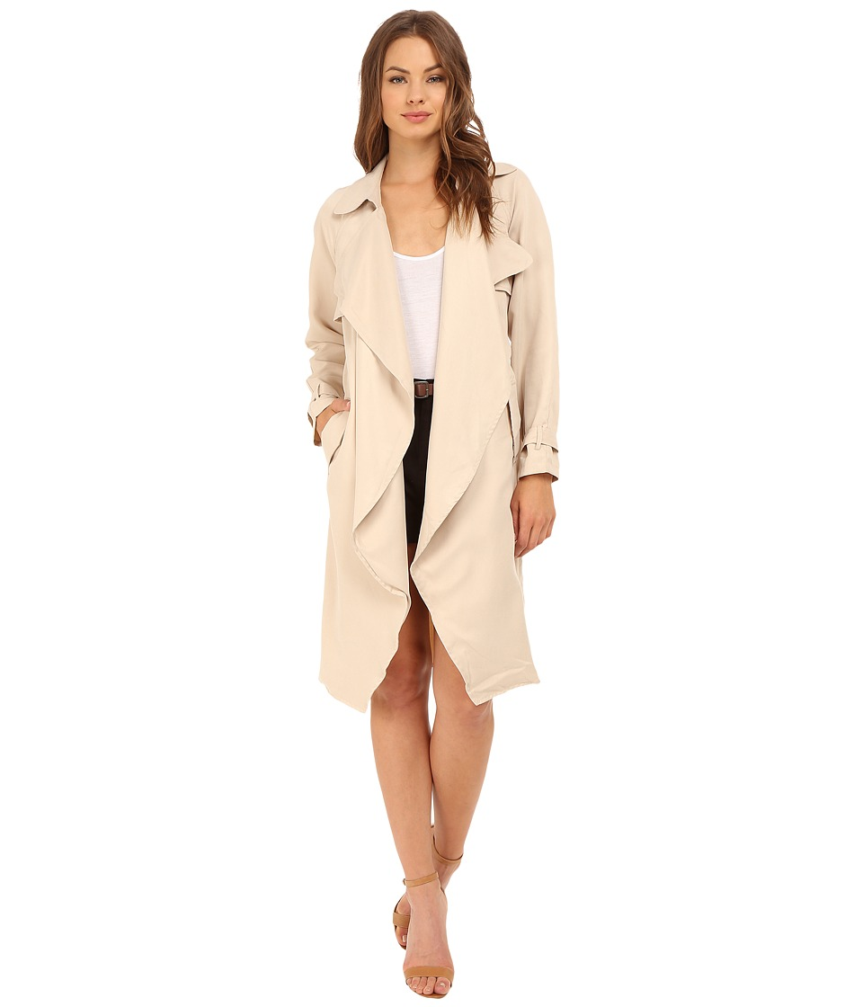 Brigitte Bailey - Adela Trench-Style Jacket (Sand) Women's Coat