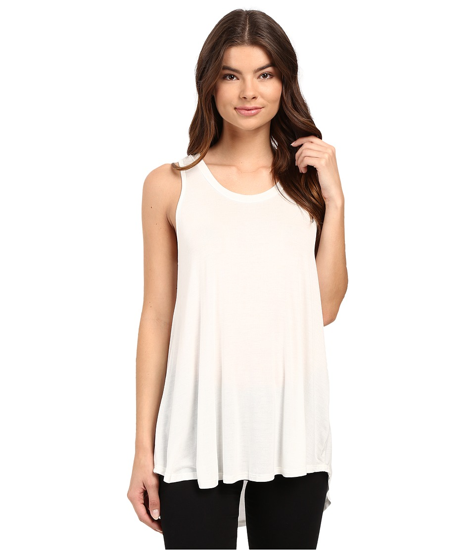 Culture Phit - Luciana Sleeveless Pleated Back Top (Ivory) Women's Sleeveless