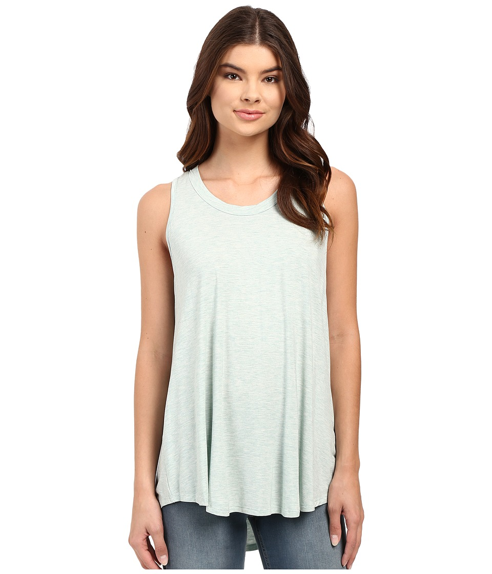 Culture Phit - Luciana Sleeveless Pleated Back Top (Mint) Women's Sleeveless