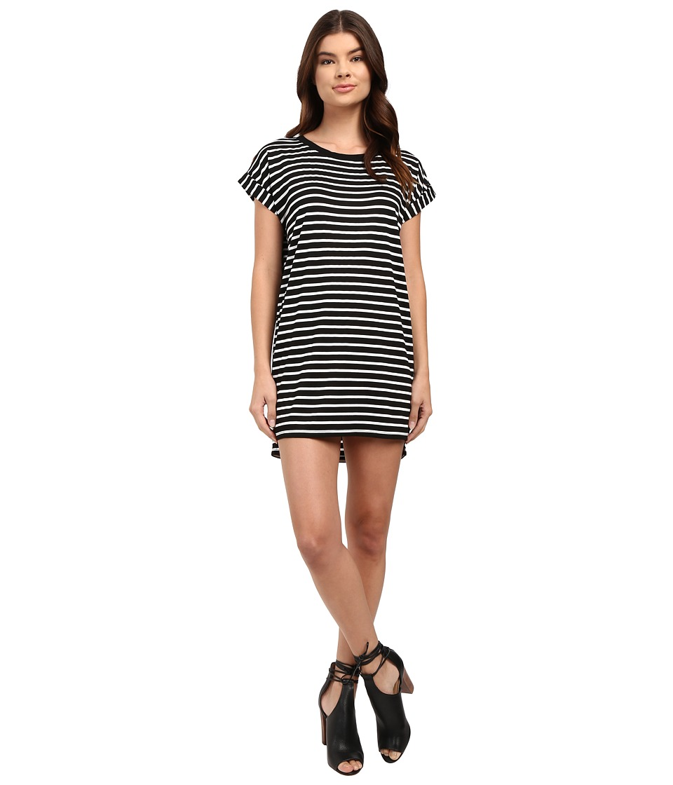 Culture Phit Calla Short Sleeve T-Shirt Dress (Black) Women