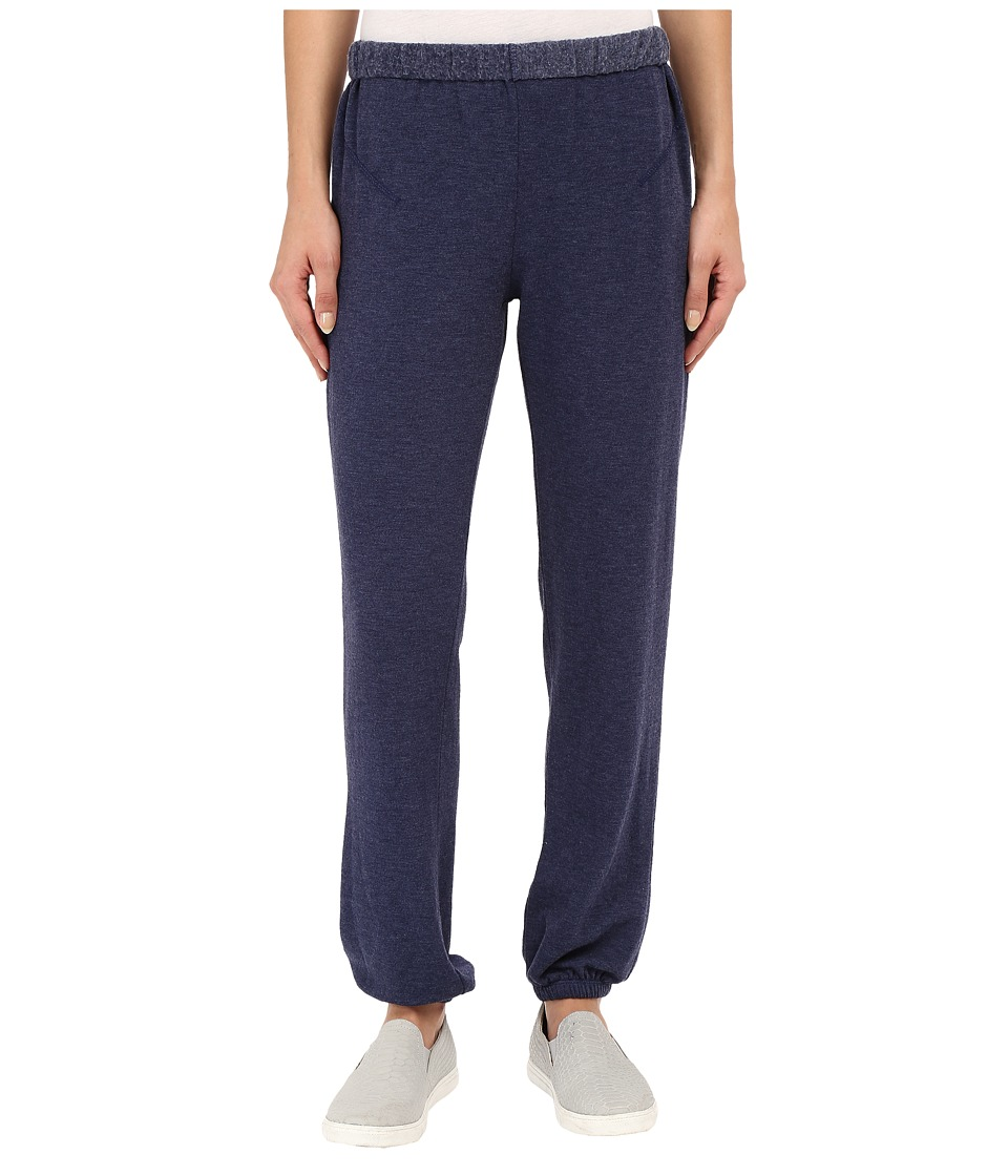 Culture Phit - Dannica Brushed French Terry Pants (Blue) Women's Casual Pants