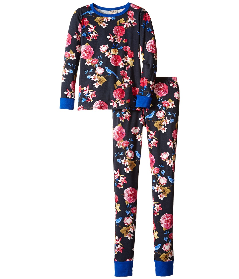 BedHead Kids - Long Sleeve Long Bottom Pajama Set (Big Kids) (Mr. Blue Jay) Girl's Pajama Sets