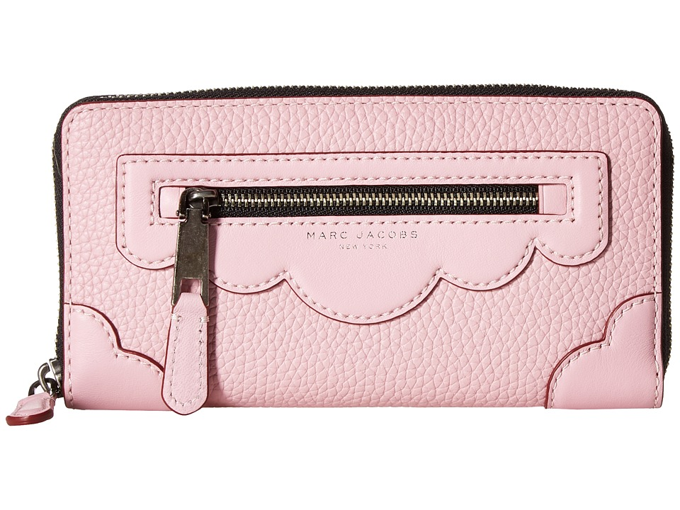 Marc Jacobs - Haze Standard Continental Wallet (Pink Fleur) Wallet Handbags