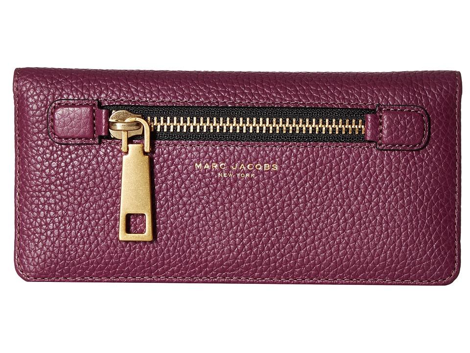 Marc Jacobs - Gotham Open Face Wallet (Iris) Wallet Handbags
