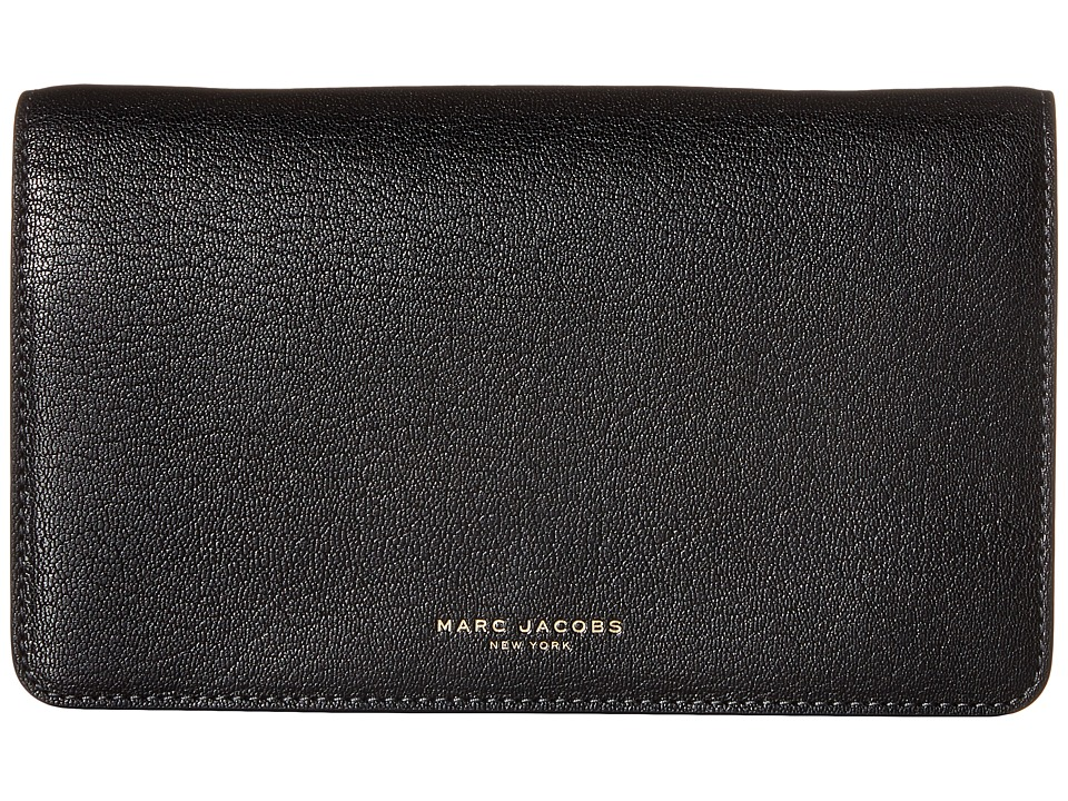 Marc Jacobs - Perry Wallet On Chain (Black) Wallet Handbags