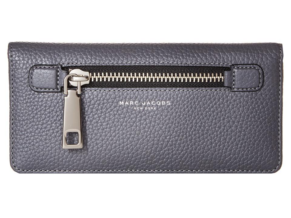 Marc Jacobs - Gotham Open Face Wallet (Shadow) Wallet Handbags