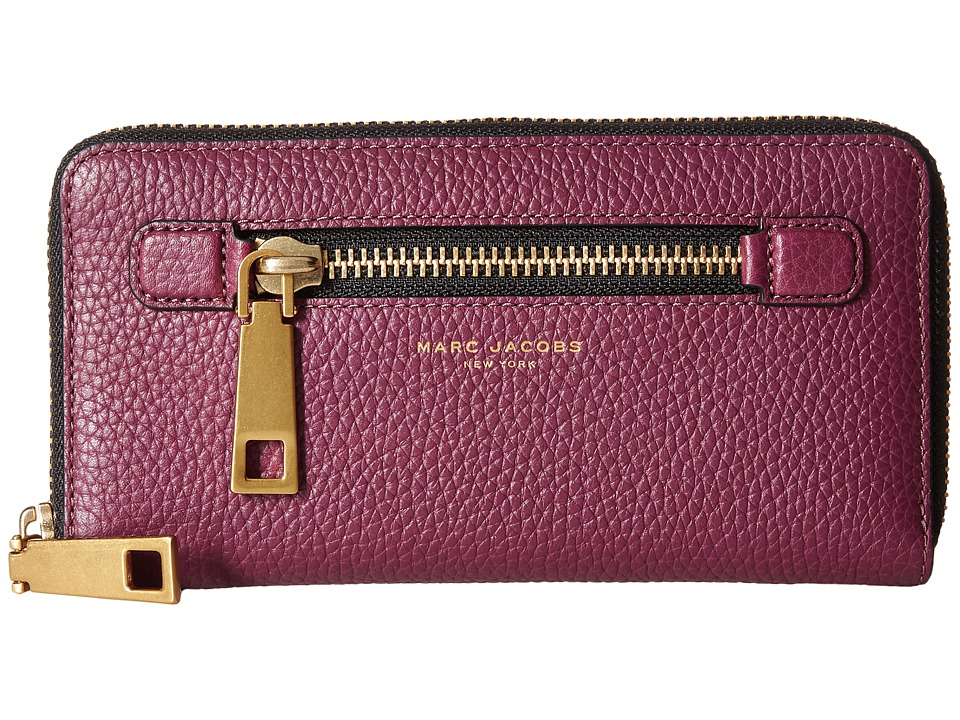 Marc Jacobs - Gotham Continental Wallet (Iris) Wallet Handbags