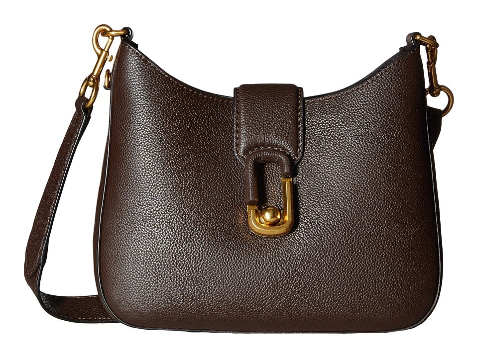 Marc Jacobs - Interlock Small Hobo (Mahogany) Hobo Handbags