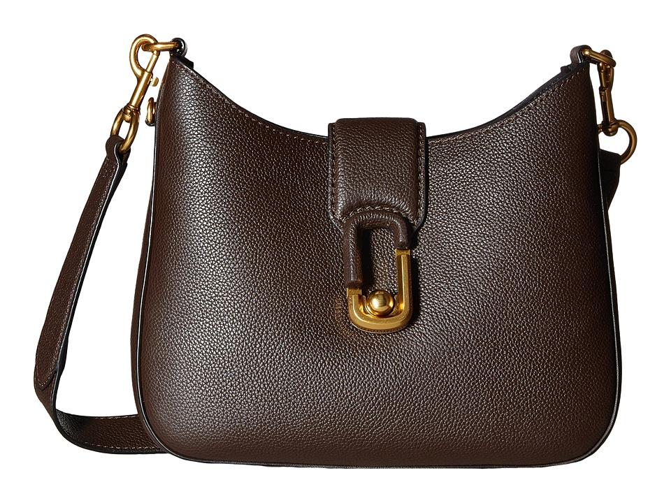 Marc Jacobs - Interlock Small Hobo (Mahogany) Hobo Handbags