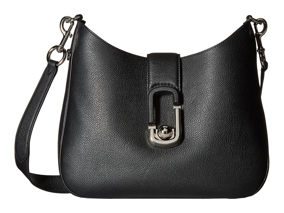 Marc Jacobs - Interlock Hobo (Black) Hobo Handbags