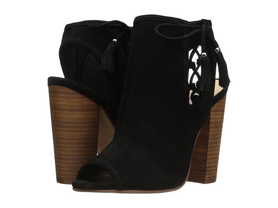 Kristin Cavallari - Legend (Black Kid Suede) High Heels